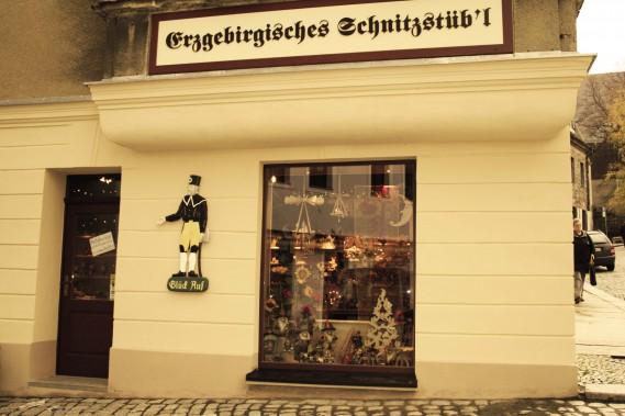 Erzgebirgisches Schnitzstübel Schneeberg